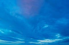 Beautiful evening sky. Stock Photography
