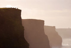 Beautiful Evening View of Cliffs of Moher Royalty Free Stock Image