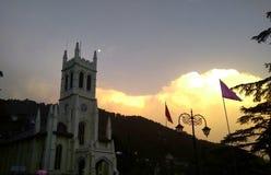 Shimla church Stock Images