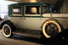 Beautiful example of antique car,Saratoga Automobile Museum,New York,2016 Royalty Free Stock Photos