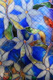 Beautiful example of stained glass window Stock Image