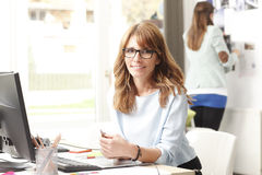 Beautiful executive businesswoman Royalty Free Stock Image