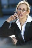 beautiful executive female Στοκ φωτογραφία με δικαίωμα ελεύθερης χρήσης