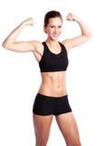 Beautiful exercise woman Stock Photo
