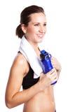 Beautiful exercise woman Stock Photos