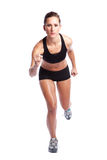 Beautiful exercise woman Royalty Free Stock Photography