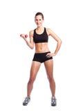 Beautiful exercise woman Royalty Free Stock Photos