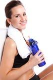 Beautiful exercise woman Royalty Free Stock Photo