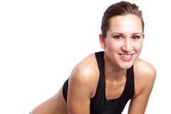 Beautiful exercise woman Royalty Free Stock Photo