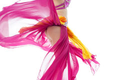Beautiful exotic belly dancer woman Royalty Free Stock Photo