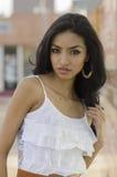 Beautiful exotic brunette Royalty Free Stock Photos
