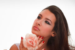 Beautiful Exotic Young Woman Royalty Free Stock Image