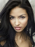 Beautiful exotic young woman Royalty Free Stock Photos