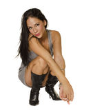 Beautiful exotic young woman Stock Photography