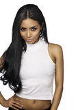 Beautiful exotic young woman long hair. Beautiful exotic young woman with long dark hair Royalty Free Stock Photos