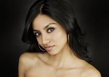 Beautiful exotic young woman Stock Photos