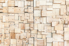 Beautiful exposed wooden wall exterior stock photo