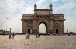 Gateway Of India in Mumbai. Beautiful exposure of the Gateway of India, one of India`s most unique landmarks situated in the city of Mumbai stock photography