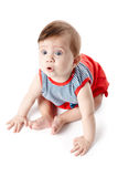 Beautiful adorable happy cute smiling baby Royalty Free Stock Photography