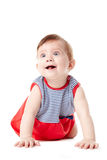 Beautiful adorable happy cute smiling baby. Beautiful expressive adorable happy cute smiling baby Stock Photo