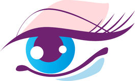 Beautiful Eye. Concept has been created as vector Stock Photos