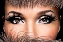 Beautiful Eye Makeup Stock Photography