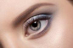 Beautiful Eye Makeup. Royalty Free Stock Photos
