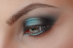 Beautiful Eye Makeup Royalty Free Stock Photos
