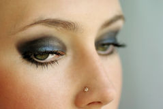 Beautiful eyes Stock Images