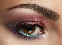 Beautiful Eyes Make-up. royalty free stock images
