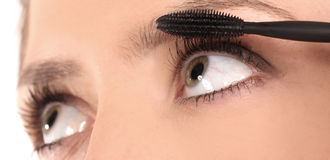 Beautiful Eyes Makeup Stock Images