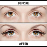 Beauty Operations - Placing Artificial Eyelashes stock photos