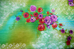 Beautiful fabric Royalty Free Stock Photography