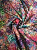 Beautiful fabric. Abstract background of colorful decorative fabric or material Royalty Free Stock Photography