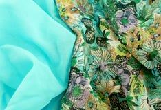 Beautiful fabric texture background Stock Photo
