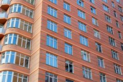 Brick high-rise building Stock Photography