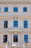 Beautiful facade seen in Dresden Royalty Free Stock Photo