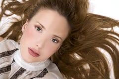 Beautiful face Stock Images