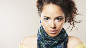 Beautiful face Stock Image