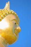 Beautiful face of Buddha image Stock Photo