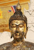 A beautiful face of  buddha image Royalty Free Stock Photo