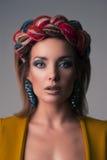 Beautiful girl face Stock Photography