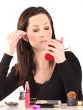 Beautiful Face Makeup Royalty Free Stock Photo