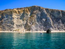 Chiaia di Luna Bay, Ponza Island royalty free stock photo