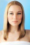 Beautiful face woman Stock Photo