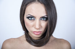 Beautiful face of a woman Stock Photo