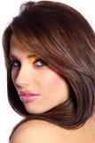 Beautiful face of woman Royalty Free Stock Photos