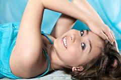 Teen girl smile Stock Photography