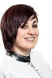 Beautiful Face of Young Woman Stock Photos