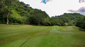 Beautiful Fairway At La Iguana Golf Course, Herradura, Costa Rica royalty free stock image